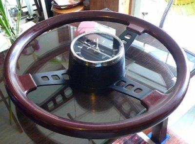 画像1: NISSAN日産 ハンドル型掛け時計