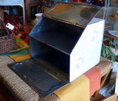 画像1: RansburgランズバーグVintageブレッドボックス