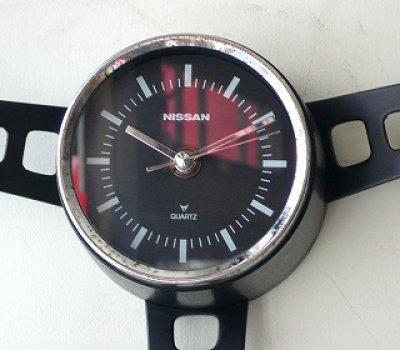 画像2: NISSAN日産 ハンドル型掛け時計
