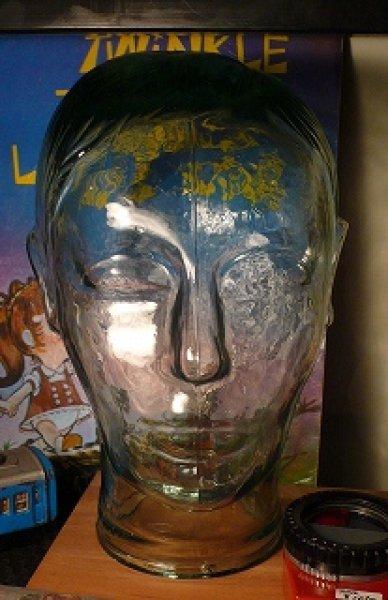画像1: ガラス頭部 (1)